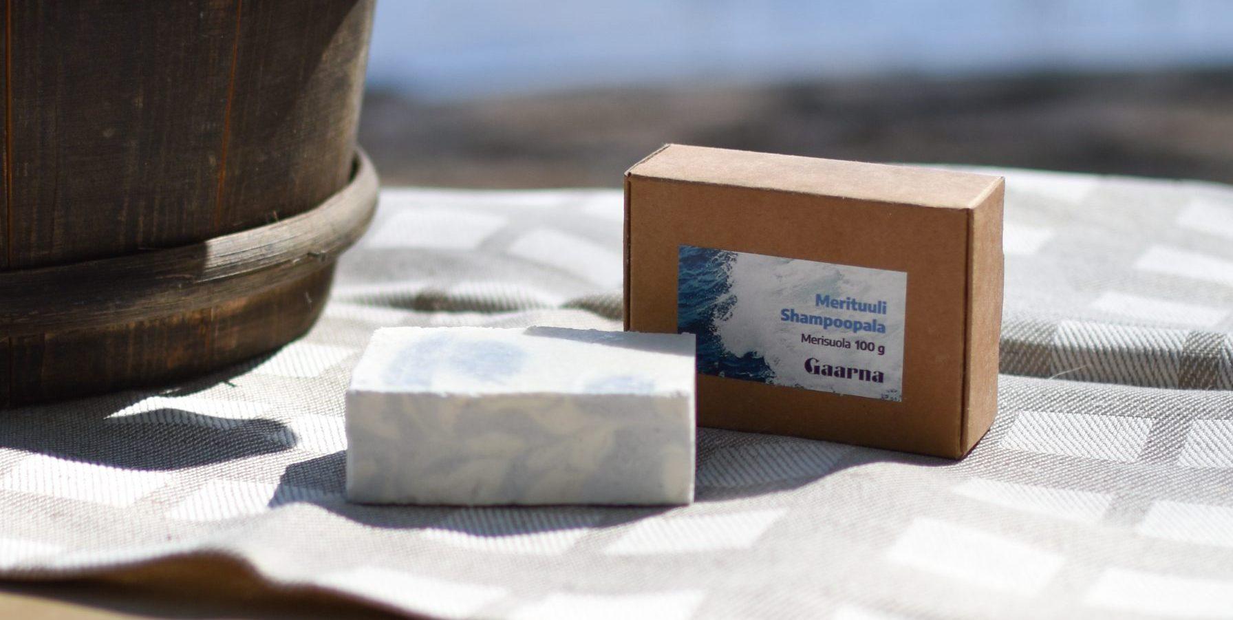 Merituuli shampoopala, Gaarna