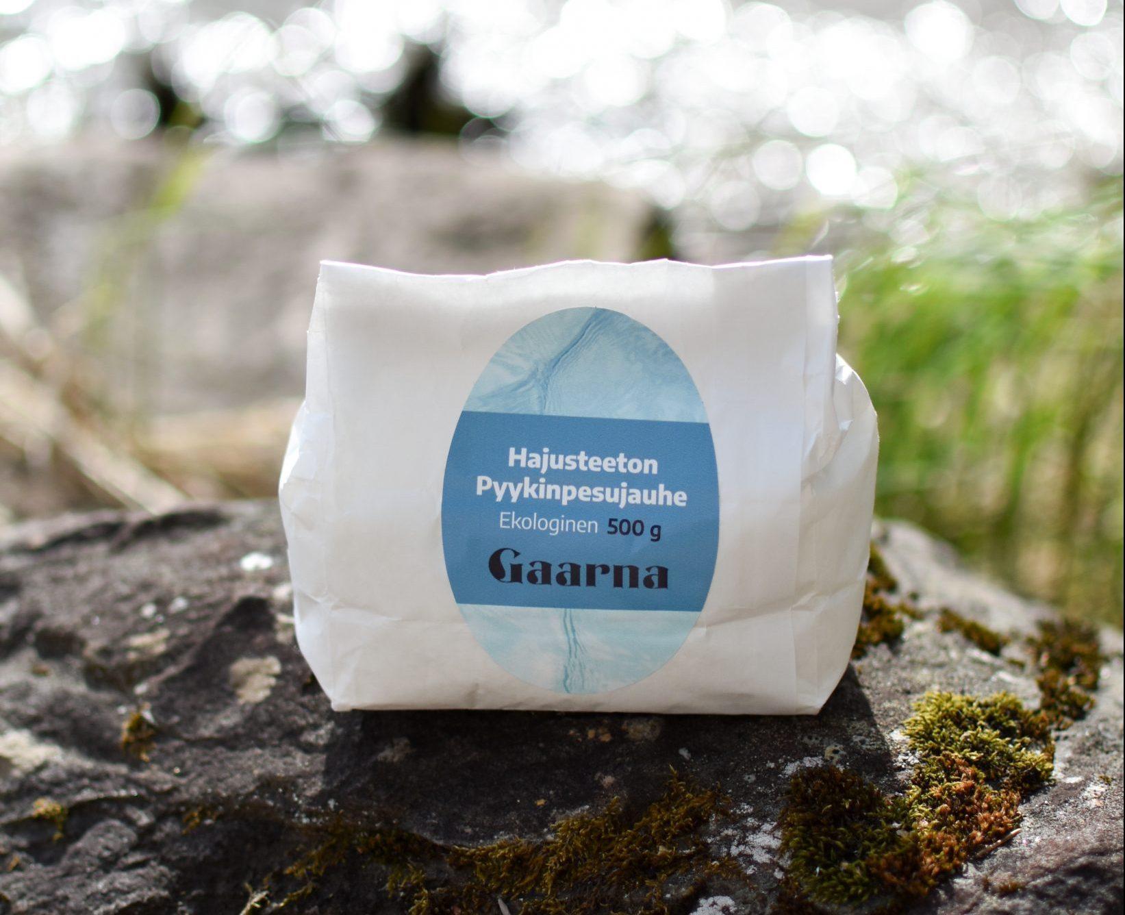 Gaarna luonnollinen pyykinpesuaine